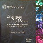 Bicentenary Concert Programme
