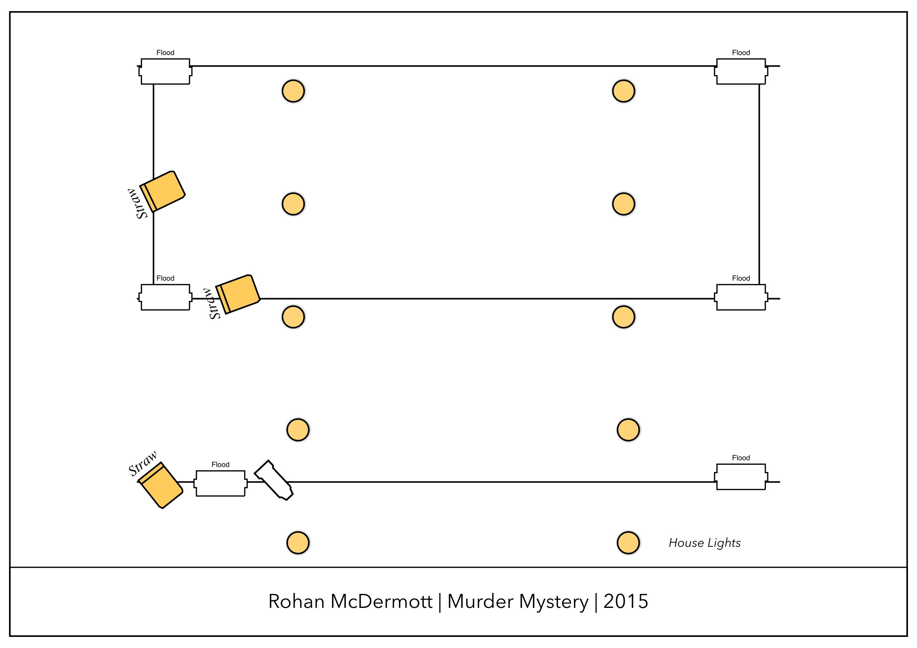 Murder Mystery Lighting Plot